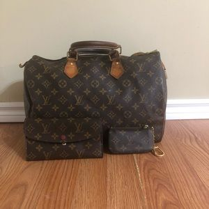 Louis Vuitton Purse, Wallet and Coin Pouch